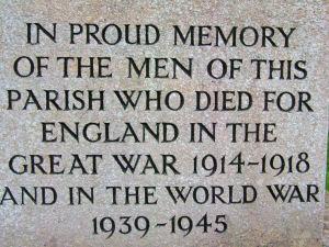 Memorial text