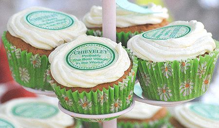 Cupcakes at Chieveley Fete