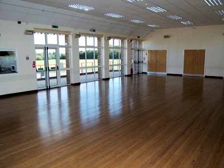 Village Hall Main Hall With Windows