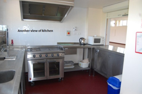 Village Hall Kitchen - Cooker