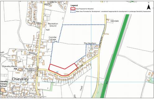 East Lane residential development plan