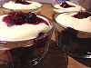 Monthly recipe -blackberry tiramisu